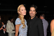 Brian Atwood and Candice Swanepoel Photos Photo