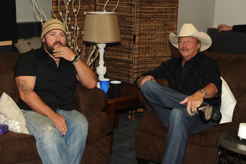 Alan Jackson Zac Brown 2012 CMT Music Awards - Audience And Backstage
