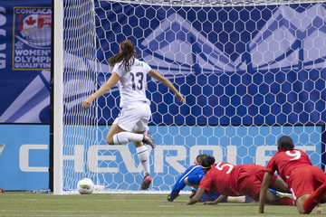 Candace Chapman 2012 CONCACAF Women's Olympic Qualifying - Championship