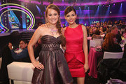 2012 HALO Award Honoree Allyson Ahlstrom and Actress Victoria Justice attend Nickelodeon's 2012 TeenNick HALO Awards at Hollywood Palladium on November 17, 2012 in Hollywood, California. The show premieres on Monday, November 19th, 8:00p.m. (ET) on Nick at Nite.