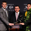 Manti Teo and Collin Klein Photos
