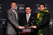 Manti Teo and Collin Klein Photos Photo