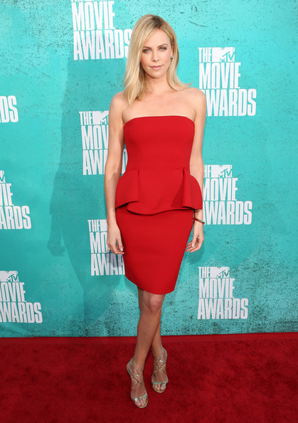 Charlize+Theron in 2012 MTV Movie Awards - Red Carpet