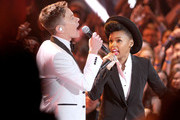 Janelle Monae and Nate Ruess Photos Photo