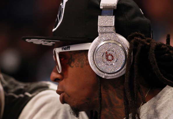 Lil+Wayne in 2012 NBA All-Star Game