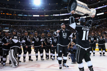 Mike Richards Jeff Carter 2012 NHL Stanley Cup Final - Game Six