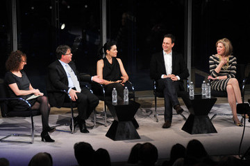"Patricia Cohen 2012 NY Times Arts & Leisure Weekend - TimesTalks With The Cast Of ""The Good Wife"" & Errol Morris"