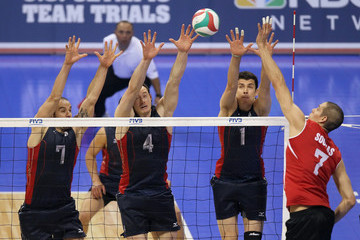 Donald Suxho 2012 U.S. Olympic Team Trials - Volleyball
