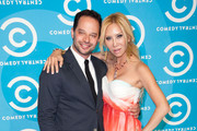 Actors Nick Kroll (L) and Tess Broussard attend the 2012 Primetime Emmy Awards Comedy Central Party at Cecconi's Restaurant on September 23, 2012 in Los Angeles, California.