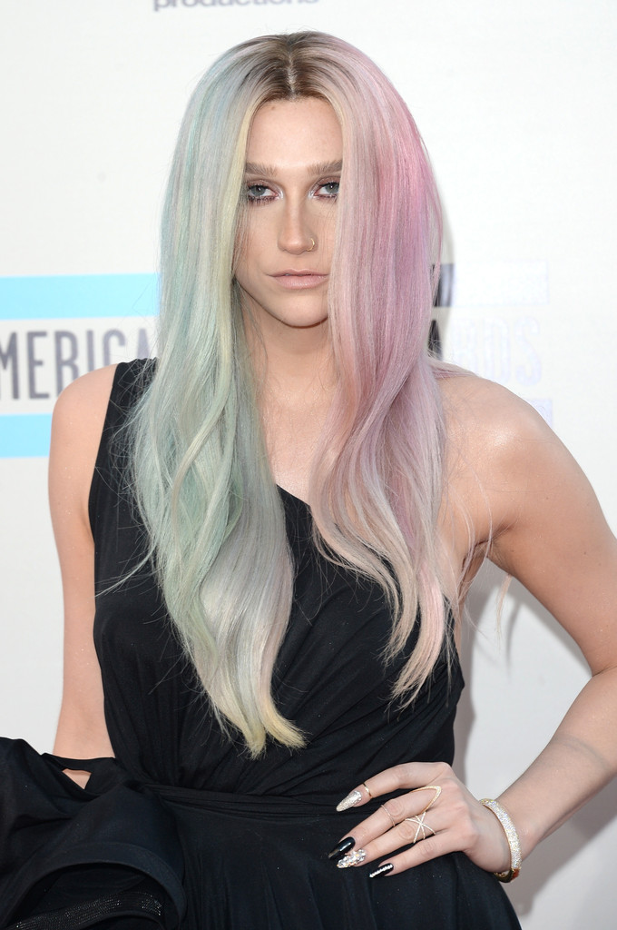 Singer Ke$ha attends the 2013 American Music Awards at Nokia Theatre L.A. Live on November 24, 2013 in Los Angeles, California.