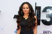 Actress Cymphonique Miller attends the 2013 BET Awards at Nokia Theatre L.A. Live on June 30, 2013 in Los Angeles, California.