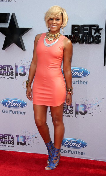 Recording artist Eve  attends the 2013 BET Awards at Nokia Theatre L.A. Live on June 30, 2013 in Los Angeles, California.