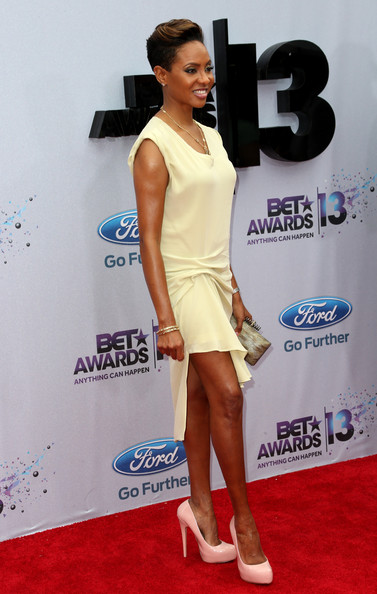 Recording artist MC Lyte attends the 2013 BET Awards at Nokia Theatre L.A. Live on June 30, 2013 in Los Angeles, California.