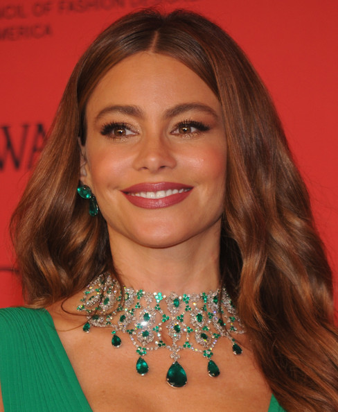 Sofia Vergara attends 2013 CFDA FASHION AWARDS Underwritten By Swarovski - Red Carpet Arrivals at Lincoln Center on June 3, 2013 in New York City.