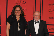 Fern Mallis and Stan Herman attend 2013 CFDA FASHION AWARDS Underwritten By Swarovski - Red Carpet Arrivals at Lincoln Center on June 3, 2013 in New York City.