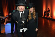 Lisa Marie Presley (R) and Michael Lockwood attend the 2013 CMT Music Awards - After Party at Rocketown on June 5, 2013 in Nashville, Tennessee.