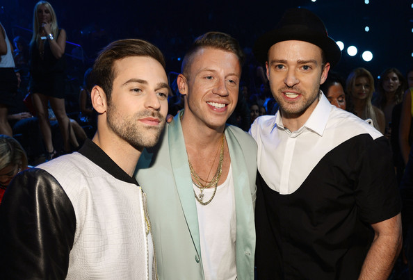 Photo of Ryan Lewis & his friend musician  Macklemore - United States
