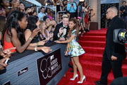 Singer Ariana Grande attends the 2013 MTV Video Music Awards at the Barclays Center on August 25, 2013 in the Brooklyn borough of New York City.