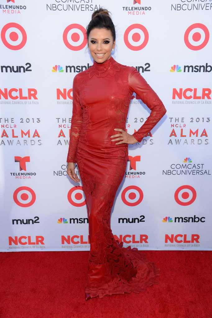 Actress Eva Longoria attends the 2013 NCLR ALMA Awards at Pasadena Civic Auditorium on September 27, 2013 in Pasadena, California.
