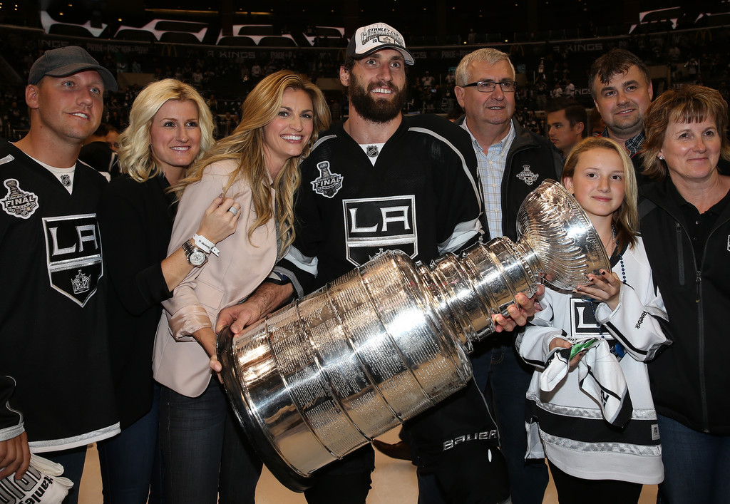 Jarret Stoll and Erin Andrews Photos - 2014 NHL Stanley Cup Final ...