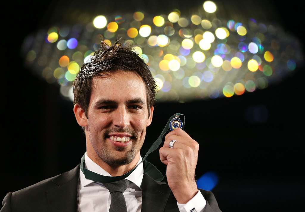 Allan Border Medal: Mitchell Johnson Photos Photos