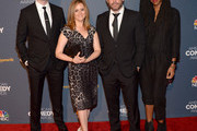 (L-R) Jordan Klepper, Samantha Bee, Jason Jones and Jessica Williams attend 2014 American Comedy Awards at Hammerstein Ballroom on April 26, 2014 in New York City.