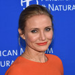 Cameron Diaz Matches Her Lipstick to Her Dress