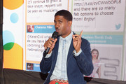 Fonzworth Bentley speaks at the Fan Fest - AT&T, Geico, Poetic Jeans, Sneaker Con, Tennis, Xbox, Health And Wellness, Nickelodeon, Centric Centrified,  LA to the Bay during the 2014 BET Experience At L.A. LIVE on June 29, 2014 in Los Angeles, California.