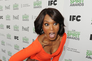 Actress Angela Bassett attends the 2014 Film Independent Spirit Awards at Santa Monica Beach on March 1, 2014 in Santa Monica, California.