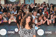 Nikki Yanofsky arrives at the 2014 MuchMusic Video Awards at MuchMusic HQ on June 15, 2014 in Toronto, Canada.