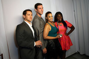 (L-R) Actors Matt McGorry, Pablo Schreiber, Dascha Polanco and Danielle Brooks attend the 2014 Young Hollywood Awards brought to you by Samsung Galaxy at The Wiltern on July 27, 2014 in Los Angeles, California.