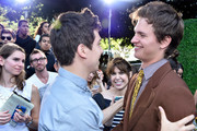 Actors Nat Wolff and Ansel Elgort (R) attend the 2014 Young Hollywood Awards brought to you by Samsung Galaxy at The Wiltern on July 27, 2014 in Los Angeles, California.