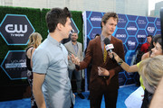 Actors Actor Ansel Elgort (R) and Nat Wolff attend the 2014 Young Hollywood Awards brought to you by Samsung Galaxy at The Wiltern on July 27, 2014 in Los Angeles, California.