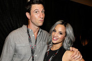 Actors Pablo Schreiber (L) and Dascha Polanco attend the 2014 iHeartRadio Music Festival at the MGM Grand Garden Arena on September 19, 2014 in Las Vegas, Nevada.