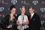 (L-R) Isabel Toledo, Kelly Osbourne and Ruben Toledo attend the 2015 AAFA American Image Awards on April 27, 2015 in New York City.