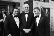 Image has been shot in black and white.) (L-R) Actor Jack Black, honoree Steve Martin and actor Martin Short attend the 2015 AFI Life Achievement Award Gala Tribute Honoring Steve Martin at the Dolby Theatre on June 4, 2015 in Hollywood, California. 25292_006