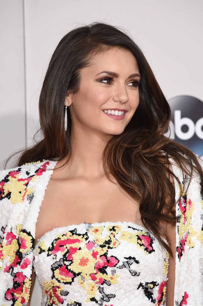Nina Dobrev Photos Photos - 2015 American Music Awards ...