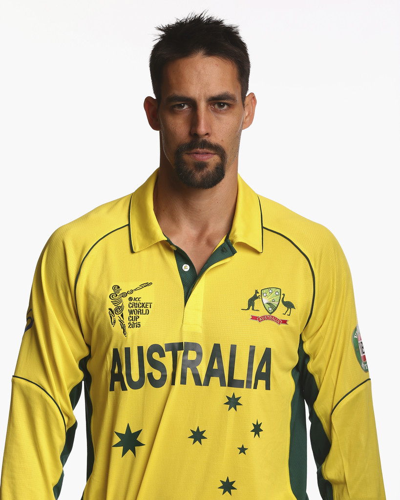 Mitchell Johnson Hairstyle Mitchell Johnson 2015