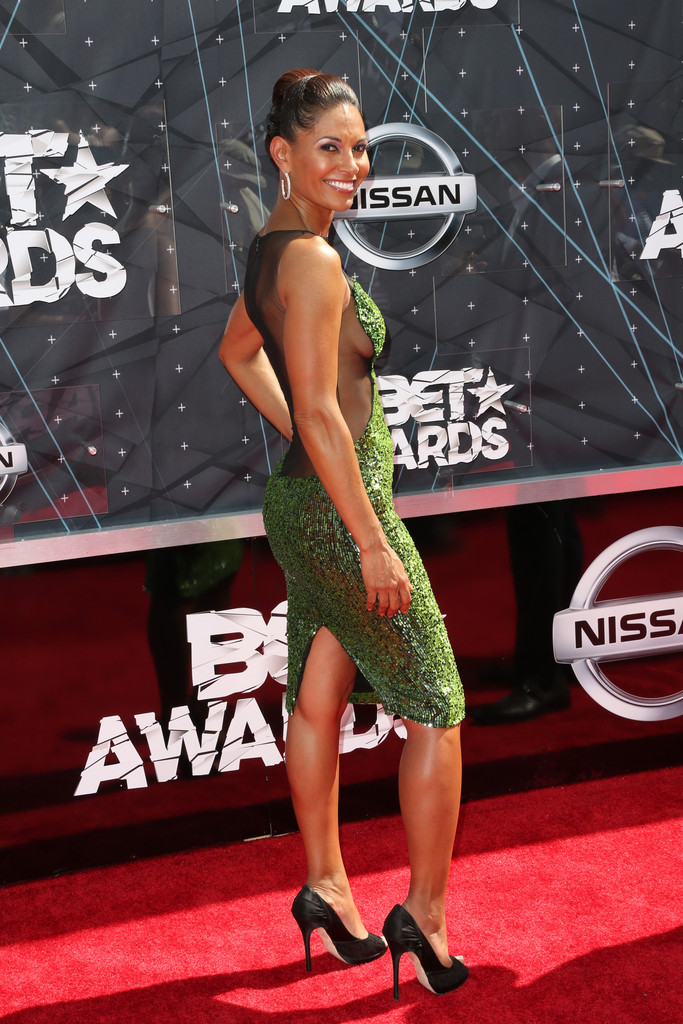 salli richardson whitfield in celebs arrive at the 2015