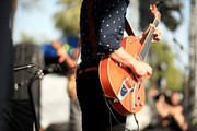 Musician Angus Stone of Angus & Julia Stone performs onstage during day 1 of the 2015 Coachella Valley Music & Arts Festival (Weekend 1) at the Empire Polo Club on April 10, 2015 in Indio, California.