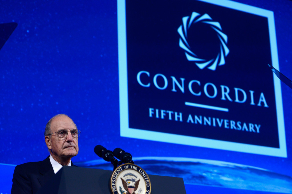 George Mitchell in 2015 Concordia Summit - Day 1