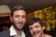 Actors Pablo Schreiber and Pedro Pascal attend the 2015 Entertainment Weekly Pre-Emmy Party at Fig & Olive Melrose Place on September 18, 2015 in West Hollywood, California.