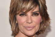 Lisa Rinna's Layered Razor Cut - Classy And Simple Short Haircuts For Women Over 50