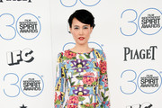 Actress Rinko Kikuchi attends the 2015 Film Independent Spirit Awards at Santa Monica Beach on February 21, 2015 in Santa Monica, California.