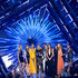 Taylor Swift Gigi Hadid Photos - (L-R) Model Martha Hunt, actress Hailee Steinfeld, model Gigi Hadid, actress Serayah, recording artist Taylor Swift, director Joseph Kahn, model Lily Aldridge, actress Mariska Hargitay and model Karlie Kloss accept the Video of the Year award for 'Bad Blood'  onstage during the 2015 MTV Video Music Awards at Microsoft Theater on August 30, 2015 in Los Angeles, California. - 2015 MTV Video Music Awards - Show