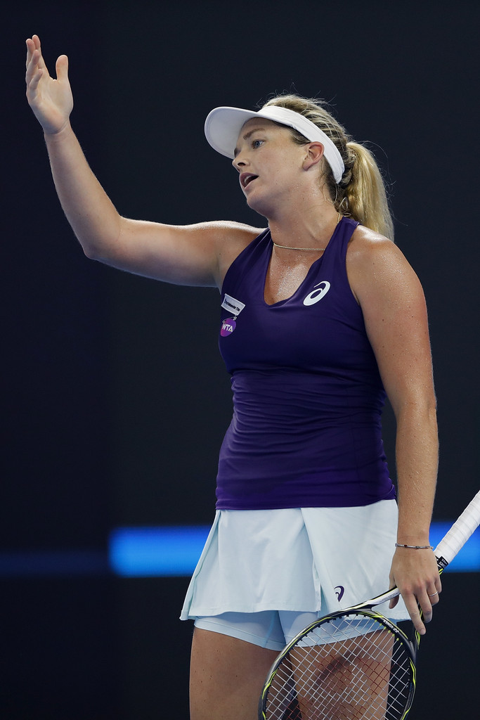 news coco vandeweghe united states reacts during womens