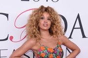 Singer Lion Babe attends the 2016 CFDA Fashion Awards at the Hammerstein Ballroom on June 6, 2016 in New York City.