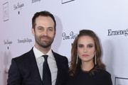 Dancer and choreographer Benjamin Millepied and actress Natalie Portman attend the 2016 Los Angeles Dance Project Gala at The Theatre at Ace Hotel Downtown LA on December 10, 2016 in Los Angeles, California.