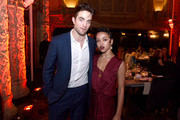 Robert Pattinson and FKA Twigs attend the 2016 Los Angeles Dance Project Gala at The Theatre at Ace Hotel Downtown LA on December 10, 2016 in Los Angeles, California.