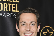Host Zachary Levi attends the 2016 Lucille Lortel Awards on May 01, 2016 in New York, New York.